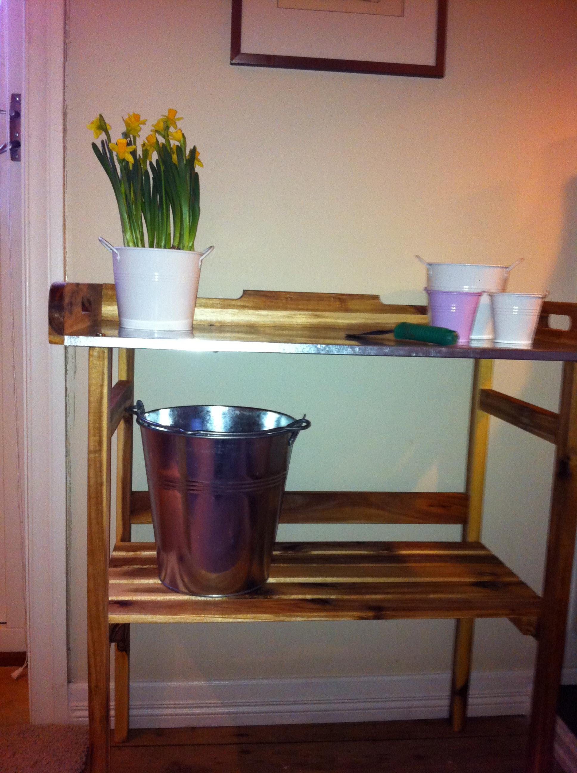 Jeg klør i fingrene og gleder meg til våren. På Biltema fant jeg dette praktiske plantebordet. Nå står det i en krok i stuen og blir brukt til å så […]