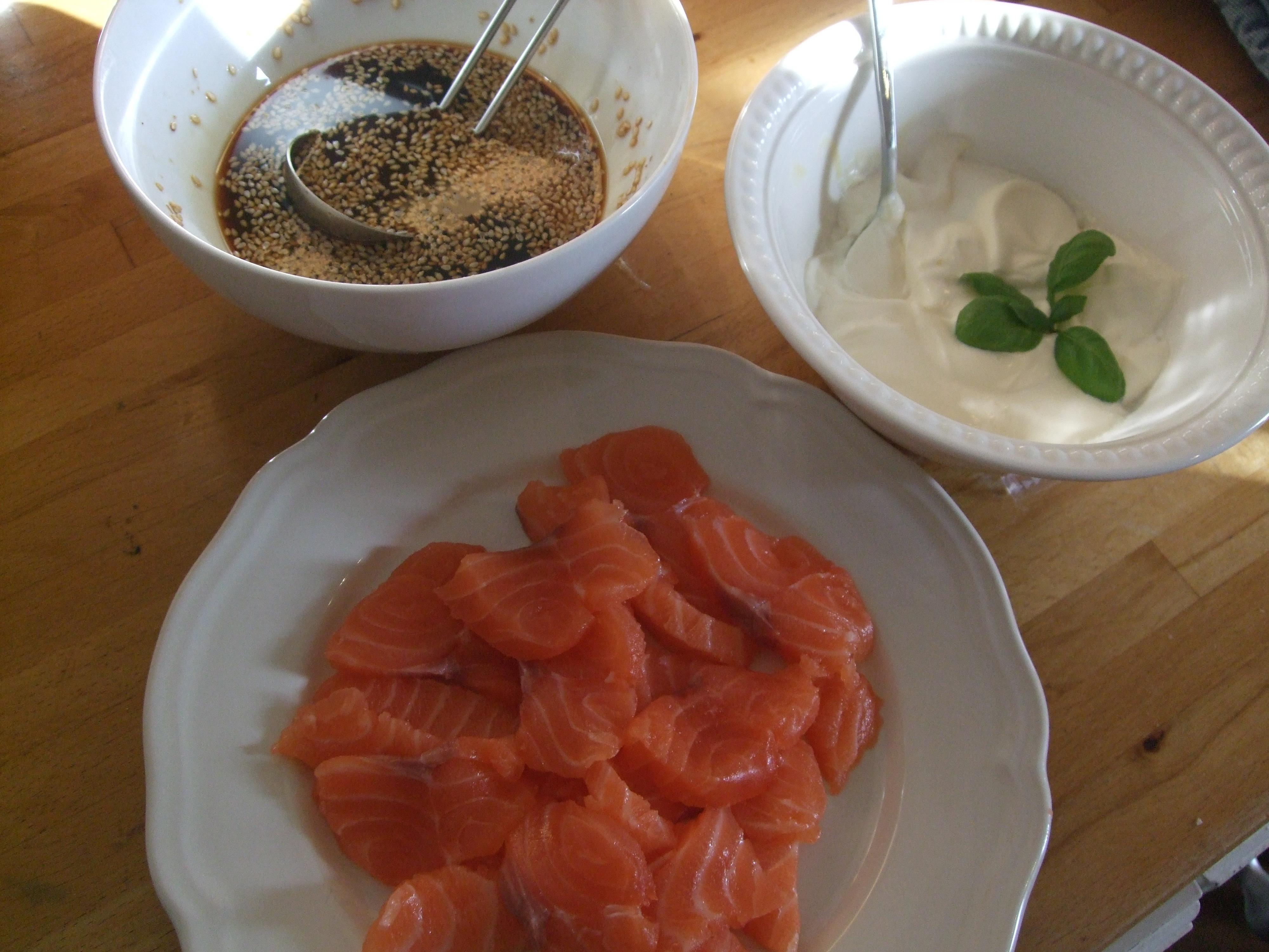 Hver sommer får jeg sushi hos Benedicte og Jørgen, med en fantastisk saus som Jørgen lager. Jeg husker ikke helt hva som er i den, så derfor laget jeg min […]