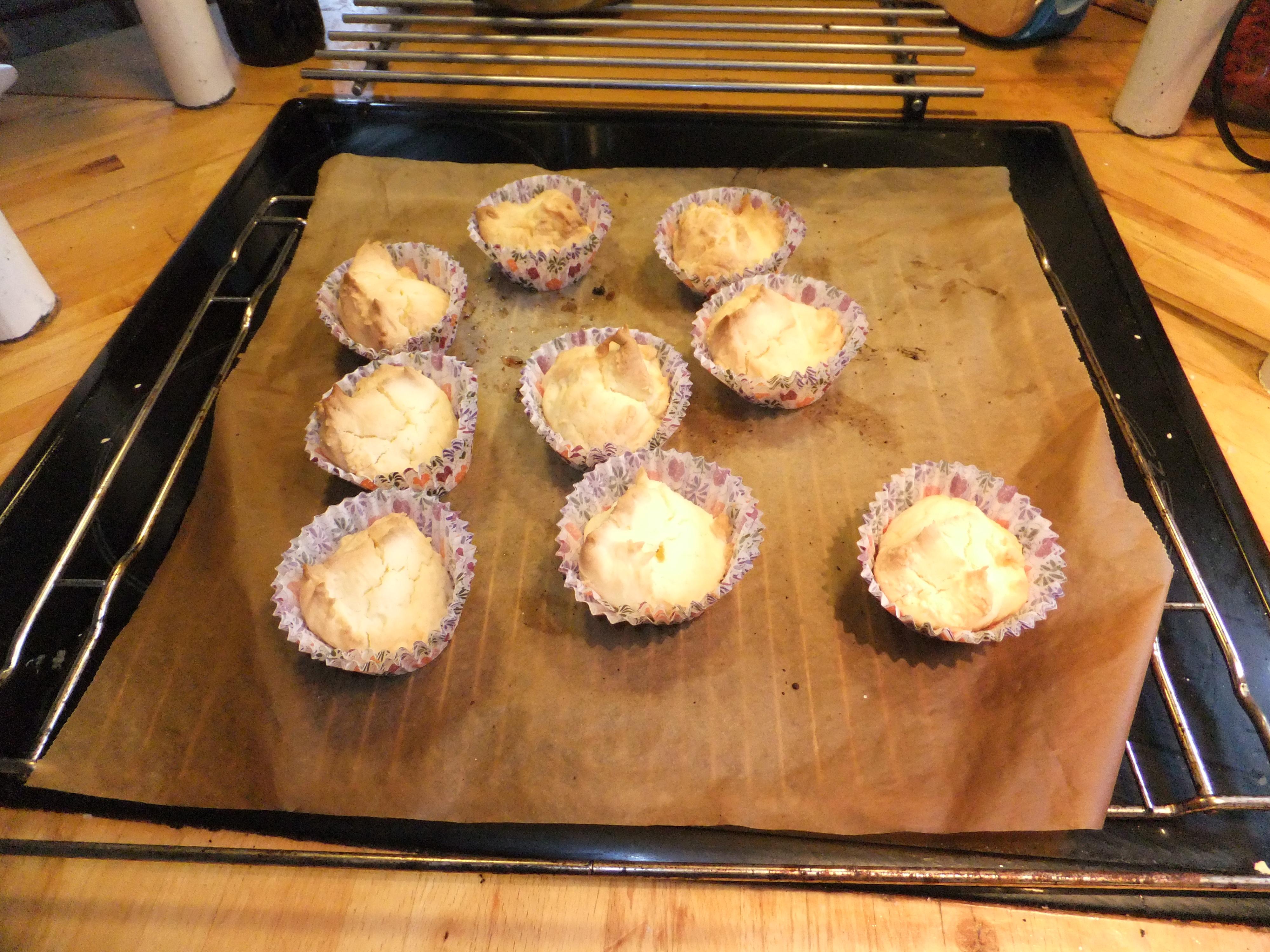 muffins uten melk og gluten