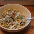 Denne salaten fikk jeg hos min gode venn Eddie, og ble helt frelst. Han har lært den av slektninger i USA. Det høres ut som en merkelig kombinasjon, men salaten […]